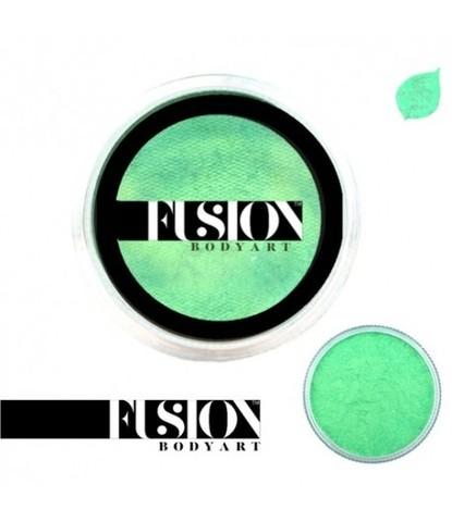 Аквагрим Fusion перламутровый мятный зеленый 25 гр