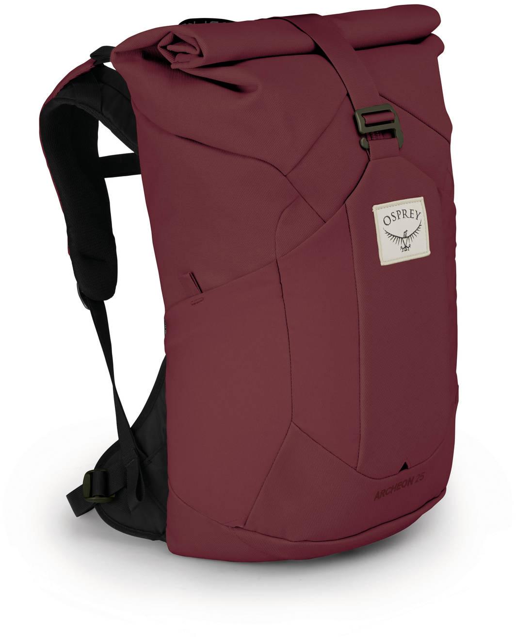 Городские рюкзаки Рюкзак женский Osprey Archeon 25 W's Mud Red Archeon_W_25_S20_Side_Mud_Red_web.jpg