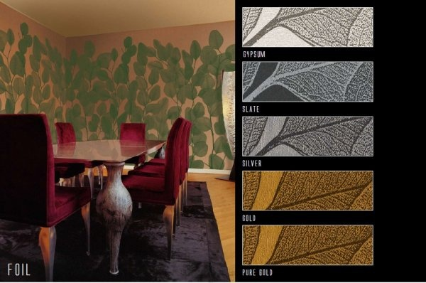 Панно Italreflexes Macro Foil 009 Copper, интернет магазин Волео