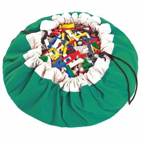 Мешок для игрушек Play&Go Classic ЗЕЛЕНЫЙ 40003