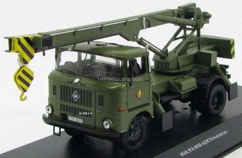 IFA W50 truck crane ADK 70 NVA DDR (People's Army DDR) 1978 CCC093 IST Models 1:43