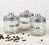"""Набор банок  """"Кофе, чай, сахар"""", 300 мл, 3 шт"""