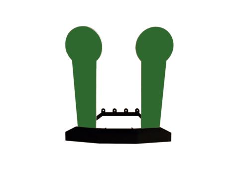 Дуэльный мини-поппер (R 500) Броня Лот