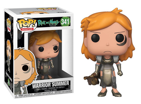 Warrior Summer Funko Pop! Vinyl Figure || Воительница Саммер
