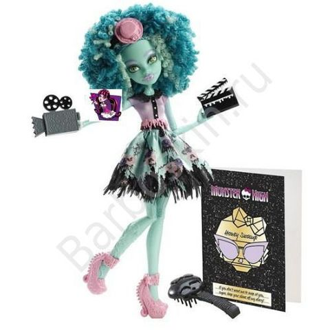 Кукла Monster High Хани Свомп (Honey Swamp) - Страх! Камера! Мотор!