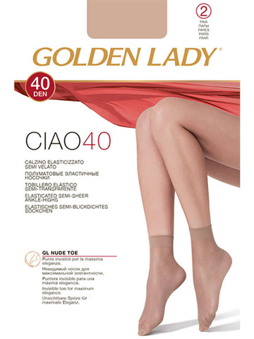 Носки Ciao 40 (2 пары) Golden Lady