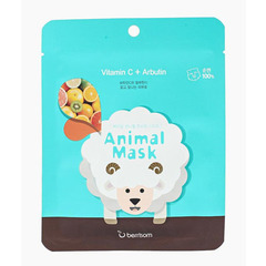 Berrisom Animal Mask Series Sheep - Маска тканевая с витамином С и арбутином