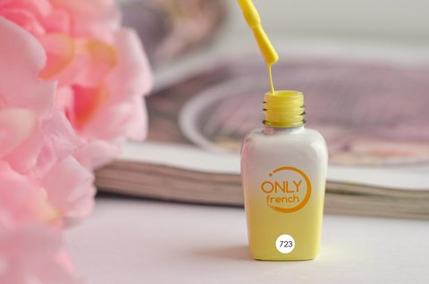 Гель-лак Only French, Yellow Touch №723, 7ml