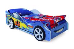 Кровать-машина Тачка синяя