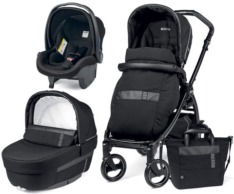 Коляска 3 в 1 Peg Perego Book 51 Rock Elite Modular