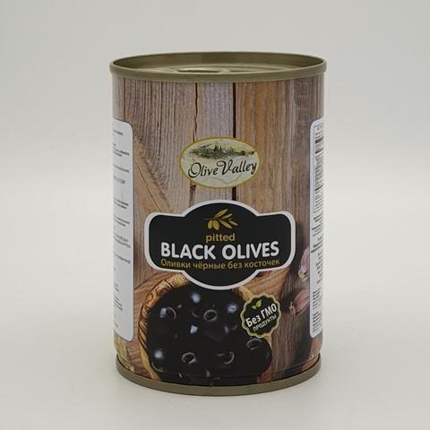 Маслины без косточки OLIVE VALLEY, 280 гр