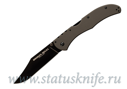 Нож Cold Steel Broken Skull OD Green III