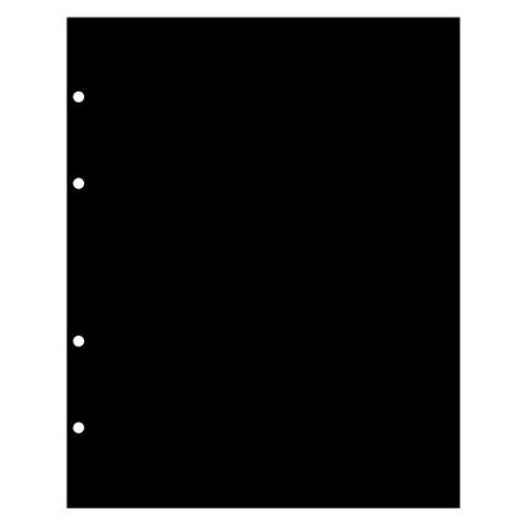 Лист промежуточный черный