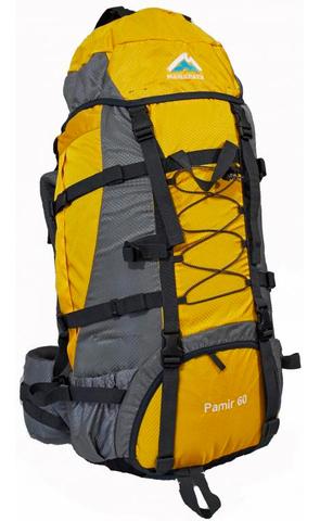 Рюкзак туристический Манарага Pamir-60 (желтый)
