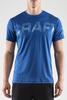 Футболка беговая Craft Prime Run Logo Blue мужская