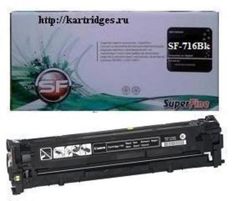 Картридж SuperFine SF-Cartridge 716Bk