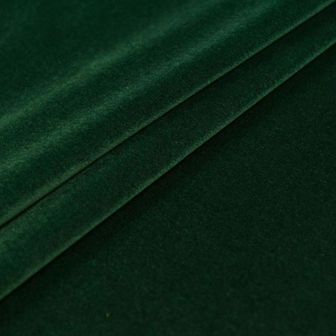 Бархат негорючий зеленый, ширина - 150 см., 380 гр./м2. арт. BR/210VN