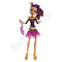 Кукла Monster High Клодин Вульф (Clawdeen Wolf) - Страх! Камера! Мотор!