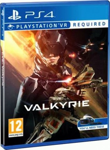 Sony PS4 Eve Valkyrie (только для VR, русская версия)