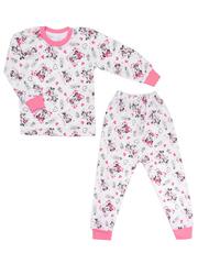 643-1 пижама детская, розовая