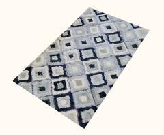 Коврик цветной MODALIN ERAK 70x120, синий, фото