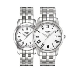 Парные часы TISSOT Classic Dream: T033.410.11.053.01 и T033.210.11.053.00