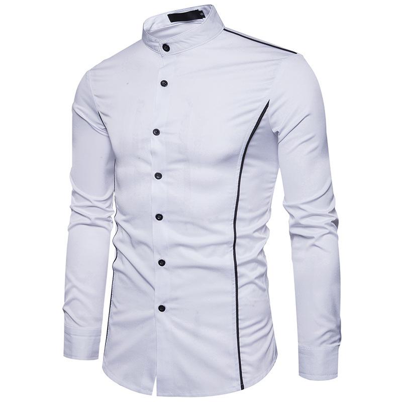 Мужская рубашка с длинным рукавом Slim Fit 4677347554_769668474.jpg