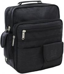 Мужская сумка Bagland Комерсант 11 л. Чёрный (0023870)
