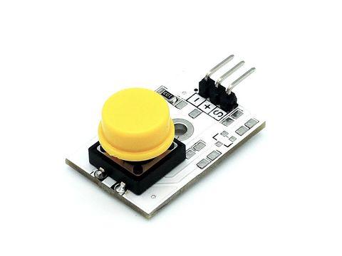 Модуль кнопки (желтый)