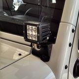Установка светодиодных фар Jeep Wrangler фото-1