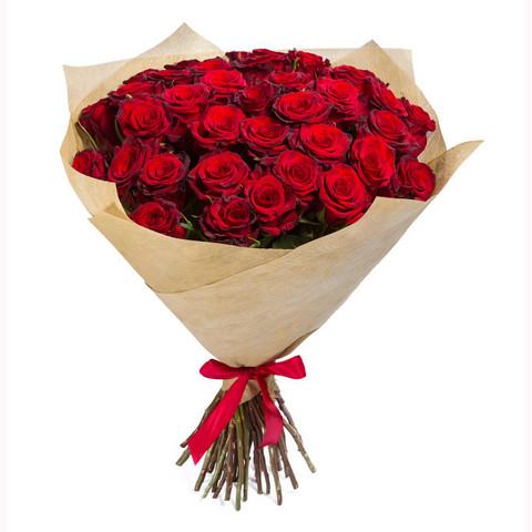 Букет из 51 красной розы (местные 2)