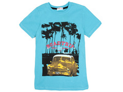 702-19 футболка детская, голубая