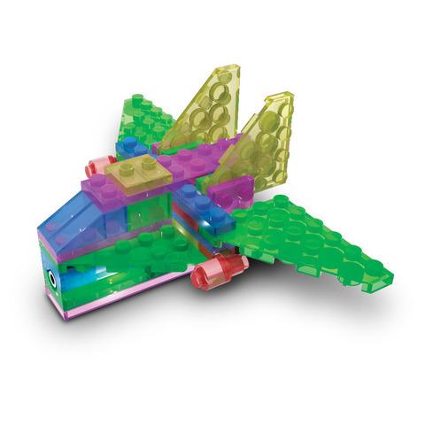 Конструктор Laser Pegs «Аэропланы в футляре» 4 в 1 (100)
