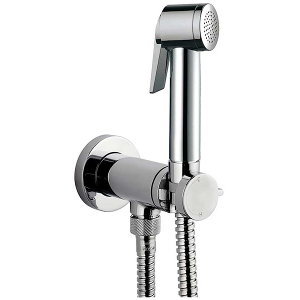 Гигиенический душ с прогрессивным смесителем Bossini Paloma Flat E37011B.030