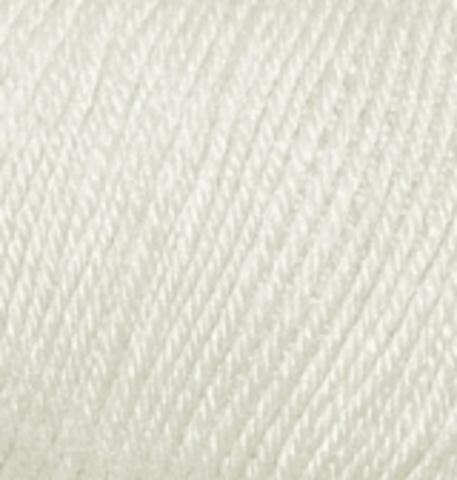 Пряжа Alize Baby Wool слоновая кость 599