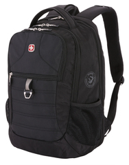 Рюкзак WENGER 15'', черный, полиэстер 600D PU, 34х19х46 см, 29 л
