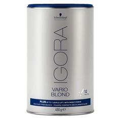 SCHWARZCOPF игора варио блонд плюс  осветляющий порошок для волос 450гр