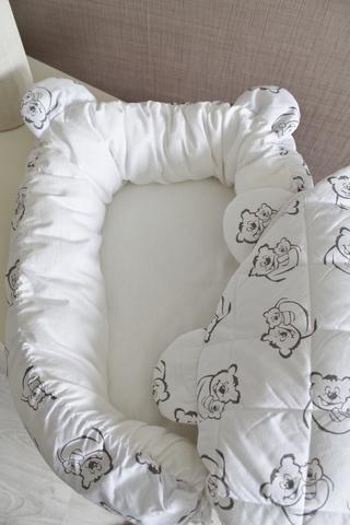 Комплект Babynest + одеяло Тедди