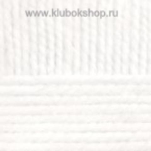 Пряжа Смесовая Пехорский текстиль Белый 01