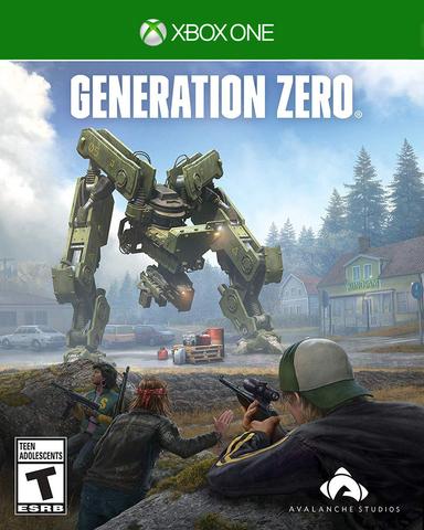 Microsoft Xbox One Generation Zero (русская версия)