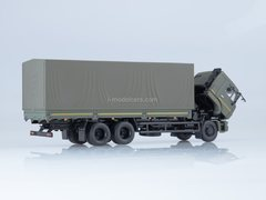 KAMAZ-65117 flatbed truck (restyling) with awning 1:43 Start Scale Models (SSM)