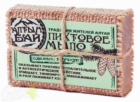 Мыло ручной работы ПИХТОВОЕ, 80 г