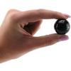 Женские вагинальные шарики из стекла Small Black Glass Ben-Wa Balls (2,5 см.; Вес: 2 х 37 гр.)