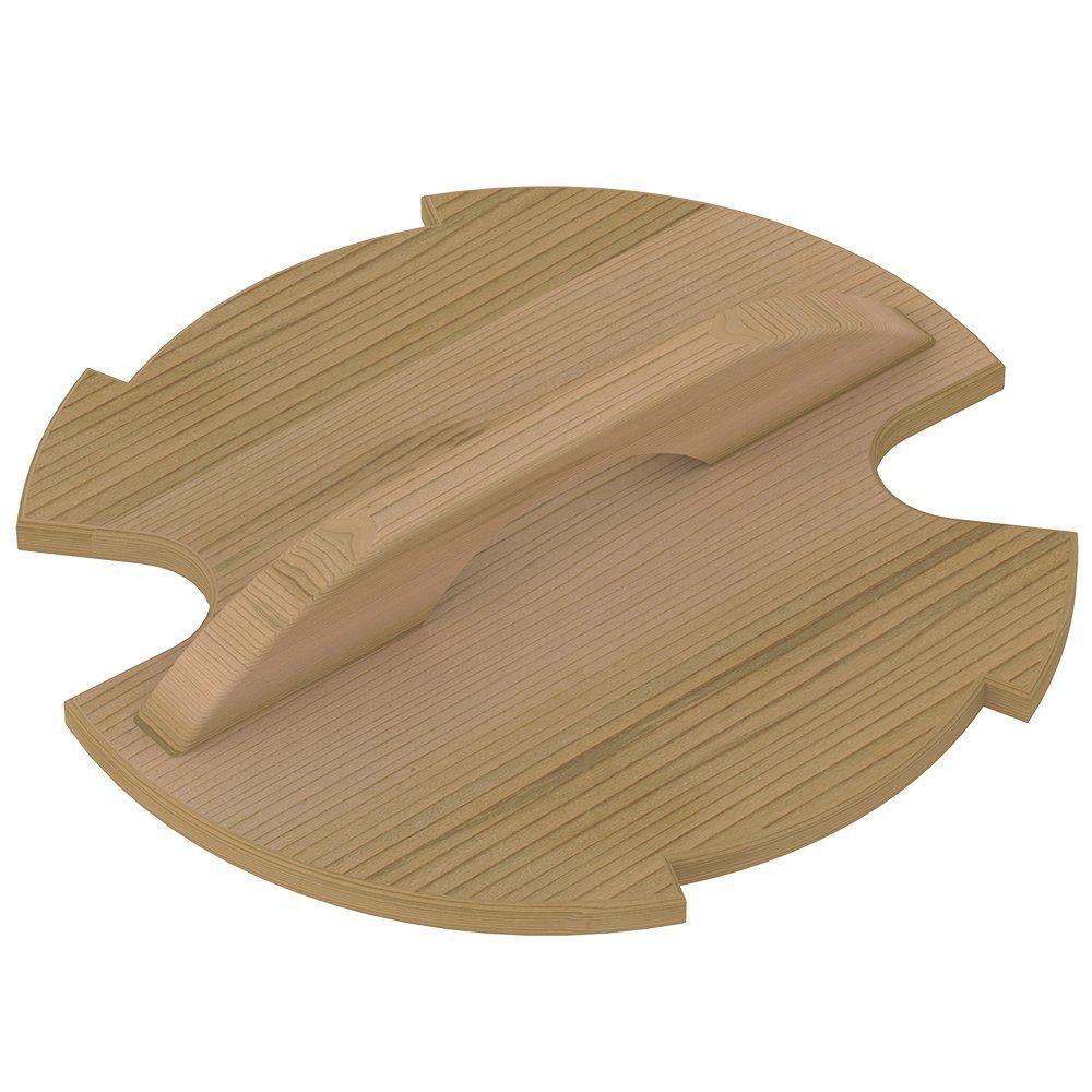 Ведра и кадушки: Крышка деревянная SAWO 381-D-COV для запарника 381-D ведра и кадушки кадушка деревянная sawo 300 tp 9 литров с пластиковой вставкой