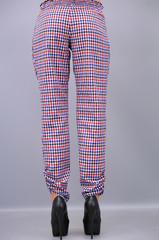 Мирра. Женские брюки. Клетка.(Р).