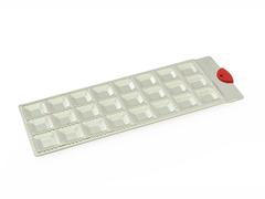 8577 FISSMAN Форма для приготовления равиоли на 24 квадратных ячейки