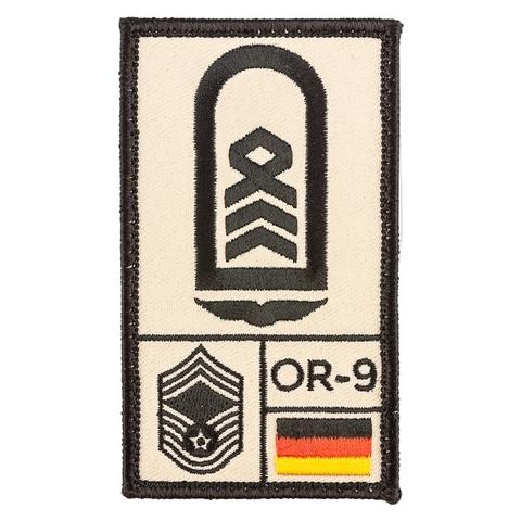 Café Viereck Rank Patch Oberstabsfeldwebel Luftwaffe sand