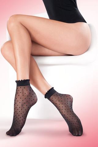 Черные женские носки
