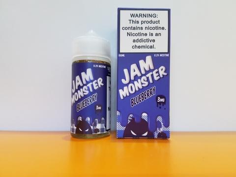 Blueberry by JAM MONSTER 100ml