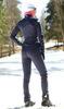 Детский утеплённый лыжный костюм Nordski Motion BlueBerry-Pink - брюки самосбросы с лямками